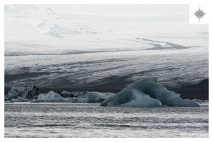 Gletscherkante am Jökulsárlón