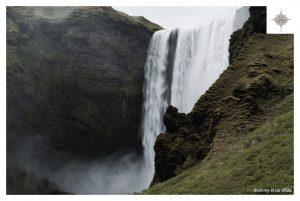 Wasserfall Skógafoss