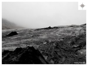 Mýrdalsjökull im Nebel