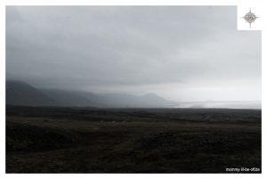 Blick zur isländischen Küste