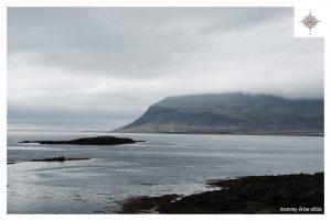 Blick zur Küste Richtung Látrabjarg
