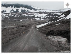 Straße in den Westfjorden