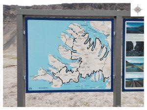 Wegweiser in den Westfjorden