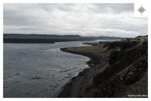 Blick über die Klippen auf der Halbinsel Vatnsnes