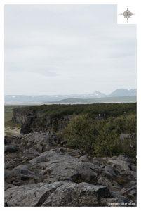 Blick in das hufeisenförmige Tal