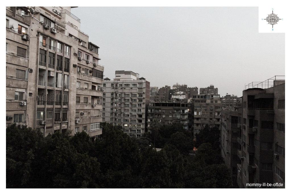 Wohngebäude in Kairo