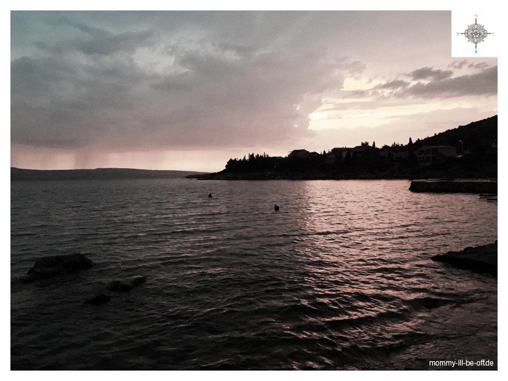 Küste bei Karlobag