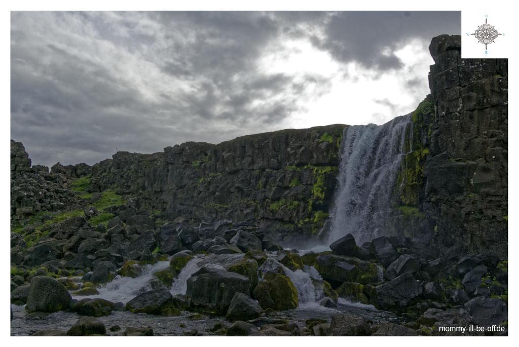 Oxararfoss, Thingvellir, Þingvellir